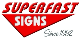 Super Fast Signs Logo